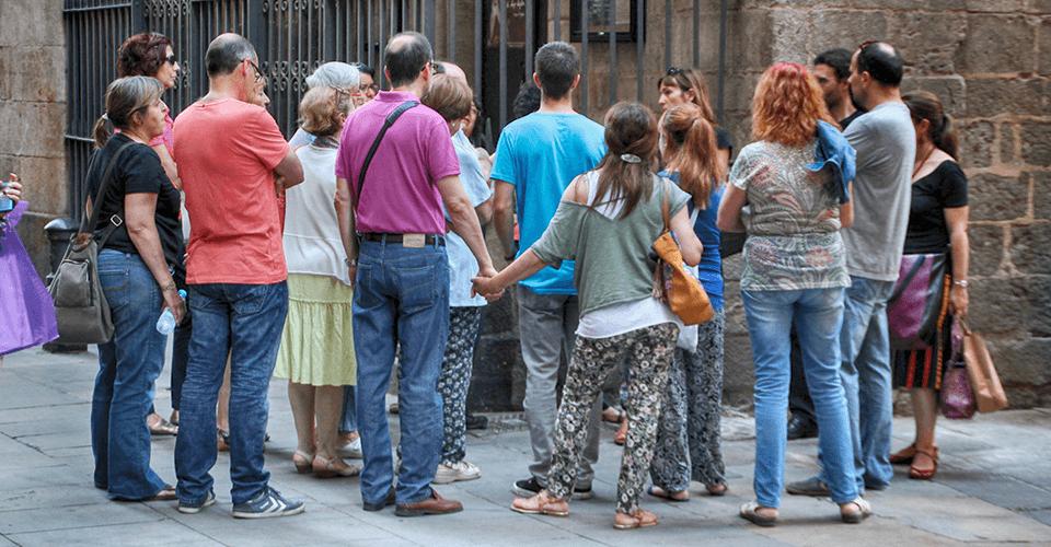 rutas guiadas por barcelona